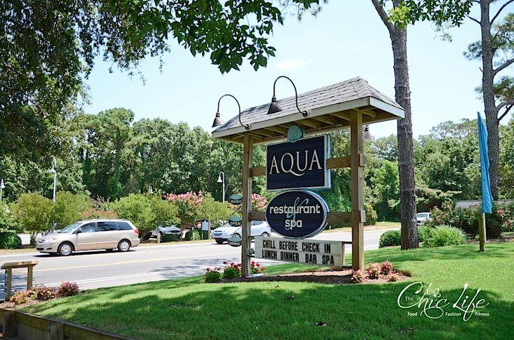 AQUA Restaurant and Duck Donuts {Duck, NC}