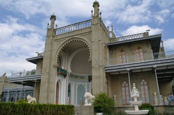 Воронцовский дворец. Южный фасад