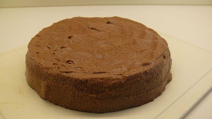 Amandel-chocoladetaart