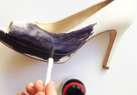 TIP DIY How to dye shoes. a n n a · e v e r s PLAN B 2