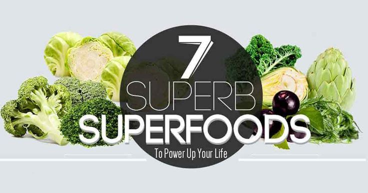 7 Superb Superfoods to Power Up Your Life Infographic - Mercola.com