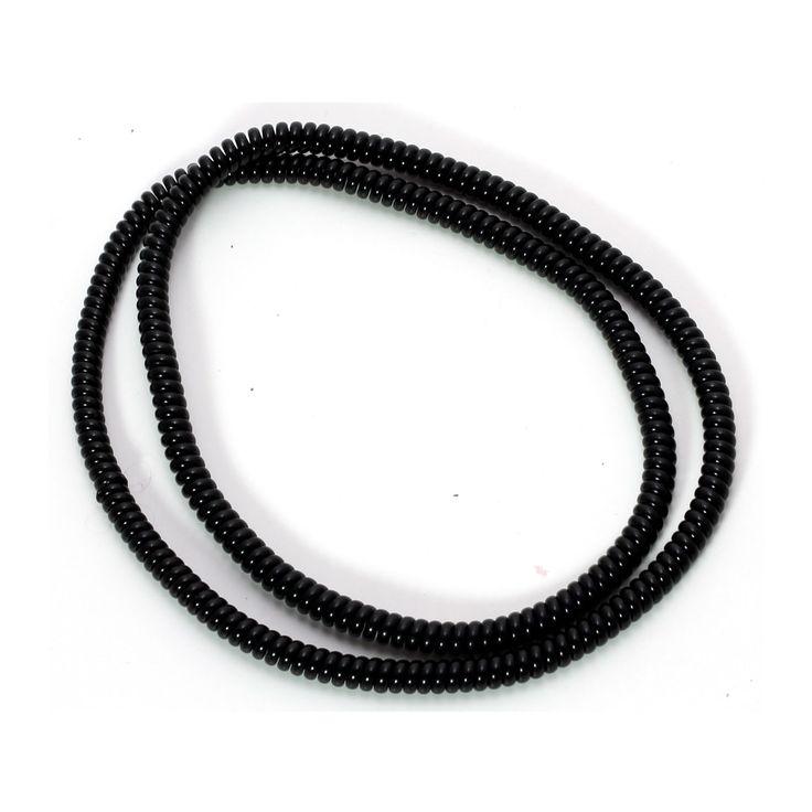 Spiral Cord Protector - Black