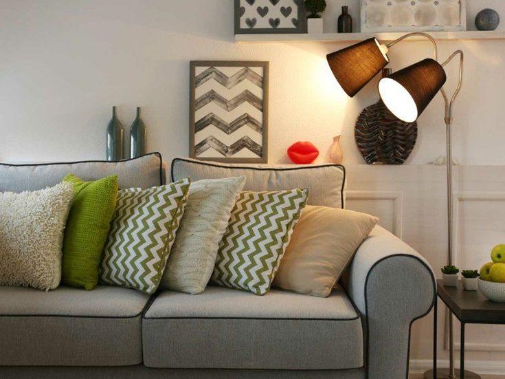 Striped pillows. Shutterstock. http://www.kenisahome.com