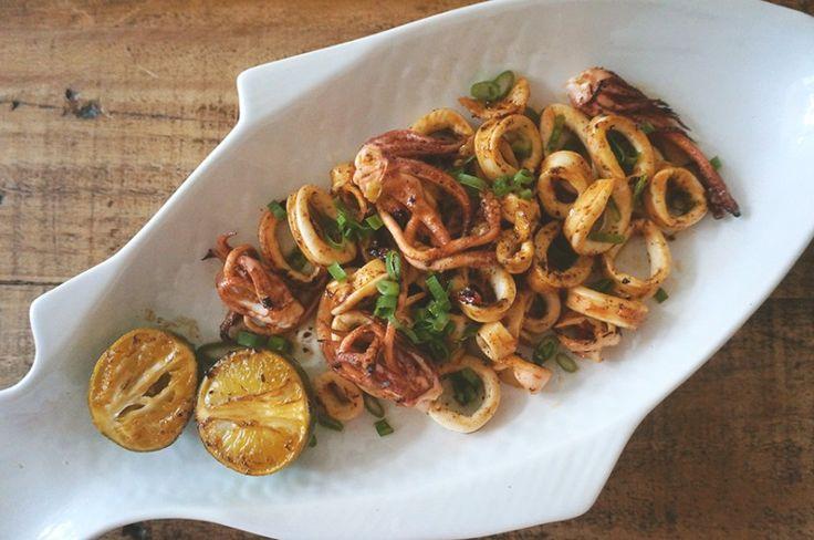 lula frita com páprica e limão | francinha cooks