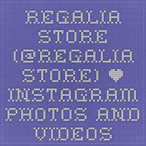 REGALIA STORE (@regalia_store) • Instagram photos and videos