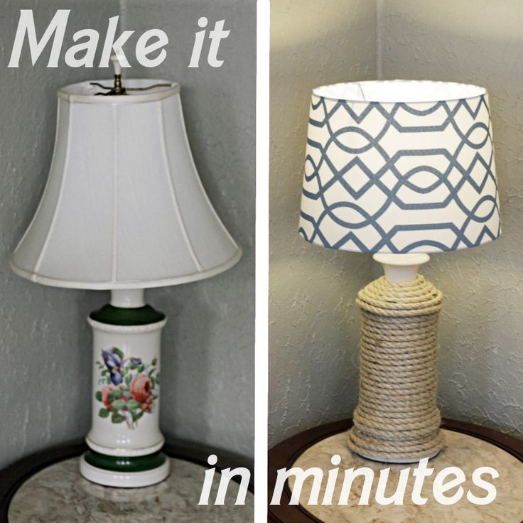 31 Rustic Diy Home Decor Projects: 1000+ Ideas About Lamp Makeover On Pinterest