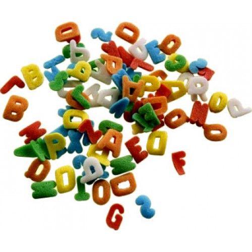 Lettere Colorate Gr.40 | DecorazioniperDolci.it