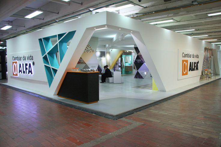 Stand ALFA -Expoconstruccion y Expodiseño 2015 - InterExpo Company