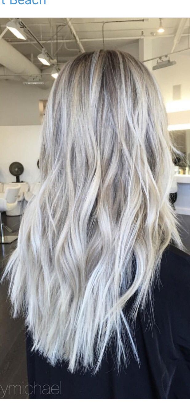 Icy blonde                                                                                                                                                                                 More