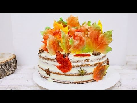 Тыквенный Осенний торт / Autumn Pumpkin Cake - YouTube