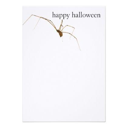 Spider Card - invitations personalize custom special event invitation idea style party card cards