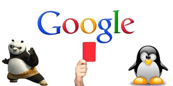 Tipi penalizzazioni Google