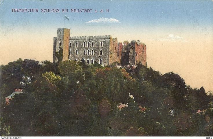 Neustadt (Weinstr.) - CPA - ALLEMAGNE - Chateau de Hambach - Hambacher Schloss Bei NEUSTADT