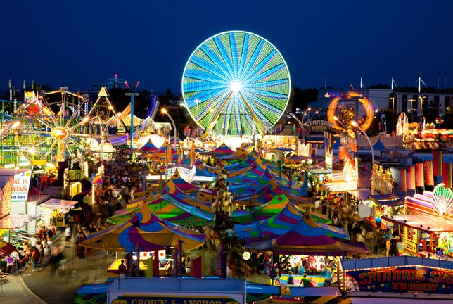 Explore Toronto this summer. Who doesn't love a trip to the Canadian National Exhibition? Mmmm, CNE doughnuts!