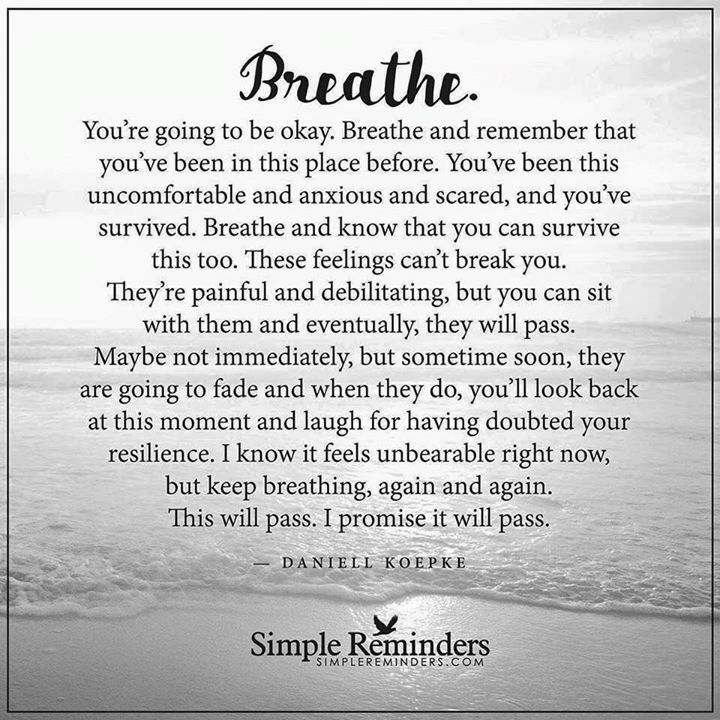 I Love You Quotes: 17 Best Just Breathe Quotes On Pinterest