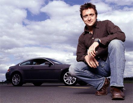 The spouse has got me hooked on Top Gear UK....I just love Richard Hammond