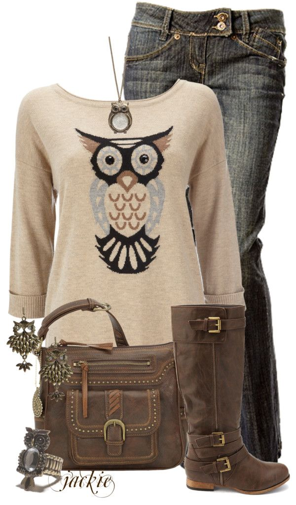 I have a thing for owl's on clothing.