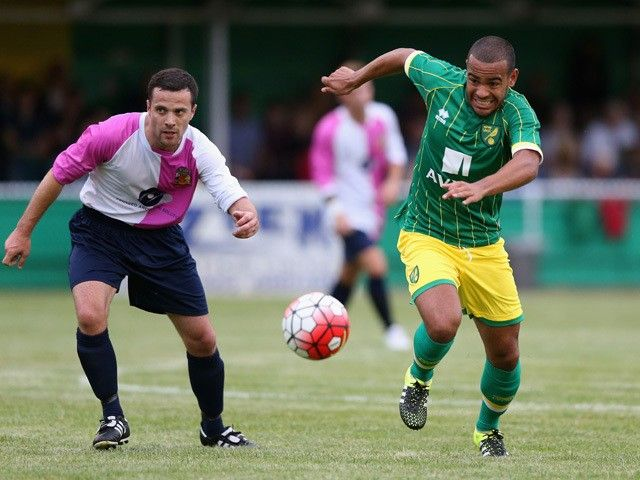 Anthony Andreu scores a second-half hat-trick as Norwich City obliterate Hitchin Town 10-0 in a pre-season friendly.