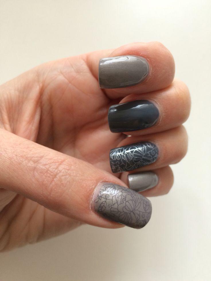 #Magnetic Dark Slate Grey Hound #MoYou pro xl06