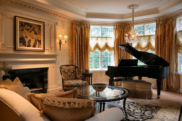 Great baby grand piano decorating ideas for graceful for Grand piano in living room