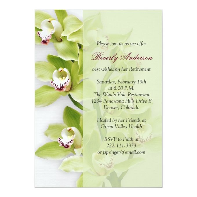 Best Retirement Party Invitations Images On