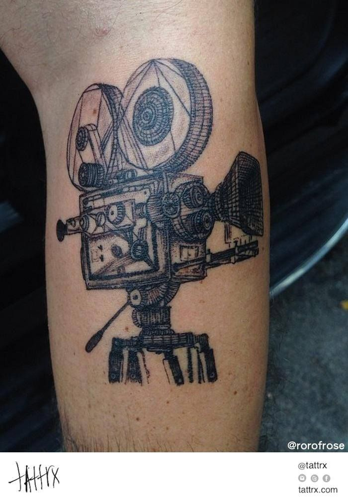 film camera tattoo - Google Search