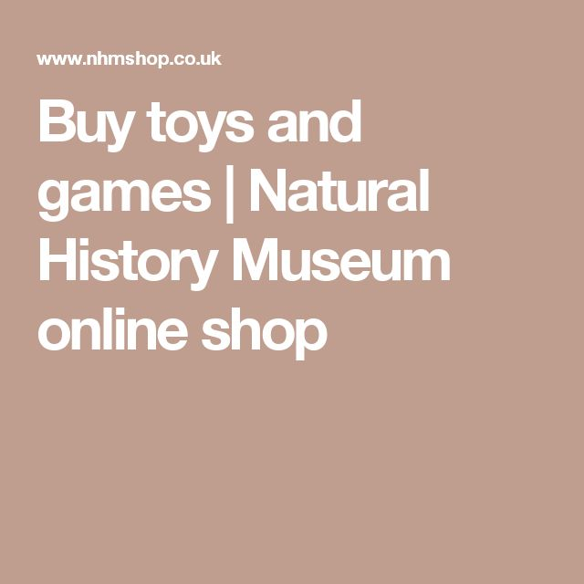 Buy toys and games | Natural History Museum online shop