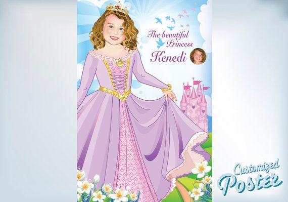 Beautiful Princess. Artistic Cartoon like animated by MyHeroAtHome