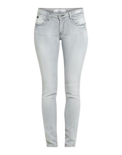 #Le #Temps #Des #Cerises #Damen #Jeggings im #Used #Look #hellgrau So cool wie eine Jeans, so bequem wie eine Sweatpants: Die Jeggings von Le Temps Des Cerises sieht nicht nur super aus, sie fühlt sich auch noch so an!