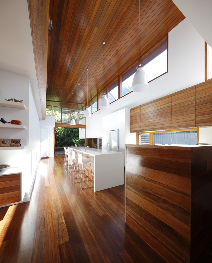 Mountford Road House, New Farm Australia by Shaun Lockyer Architects.