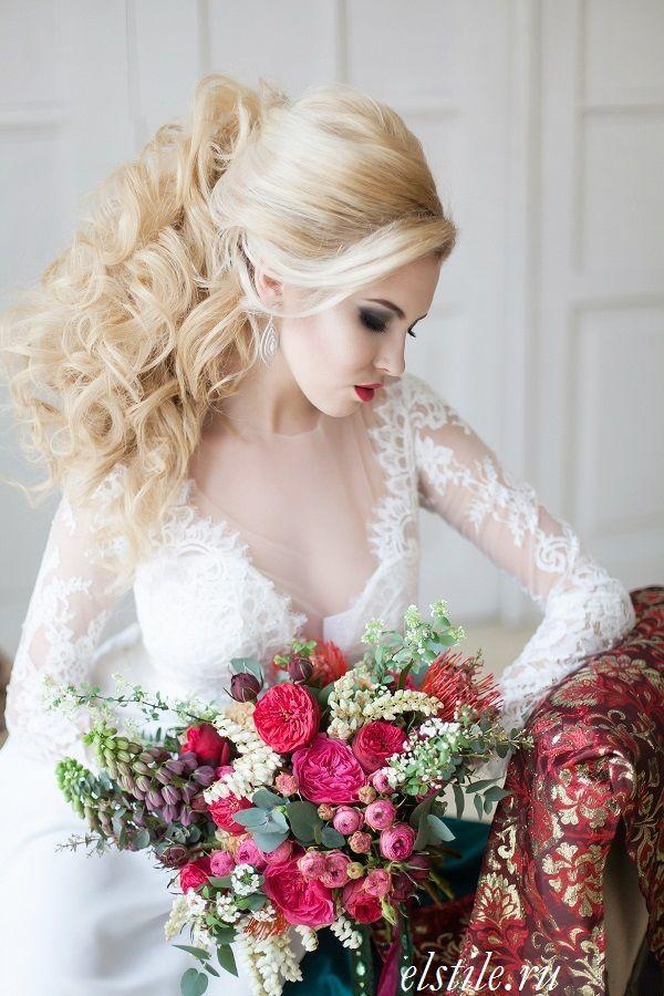26 schicke zeitlose Hochzeitsfrisuren von Elstile #WeddingHair 26 schicke zeitlose … – Wedding Hair
