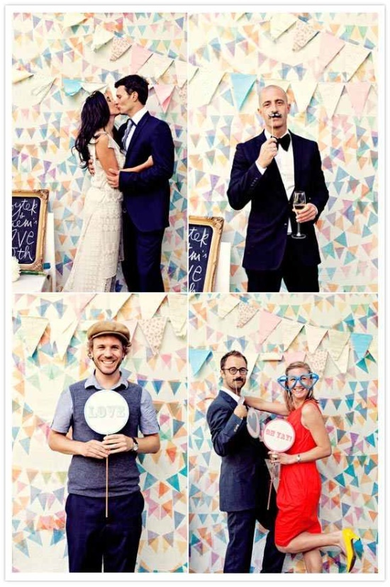 43 best wedding photo booth ideas images on pinterest weddings photo booth ideas bunting backdrop from urban outfitters solutioingenieria Choice Image