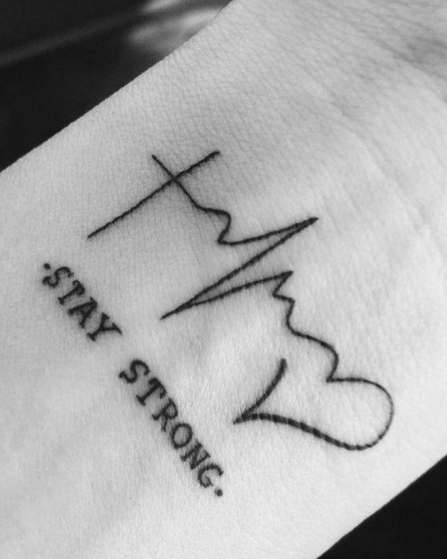50 tatuagens de batimentos cardíacos para você demonstrar seu amor