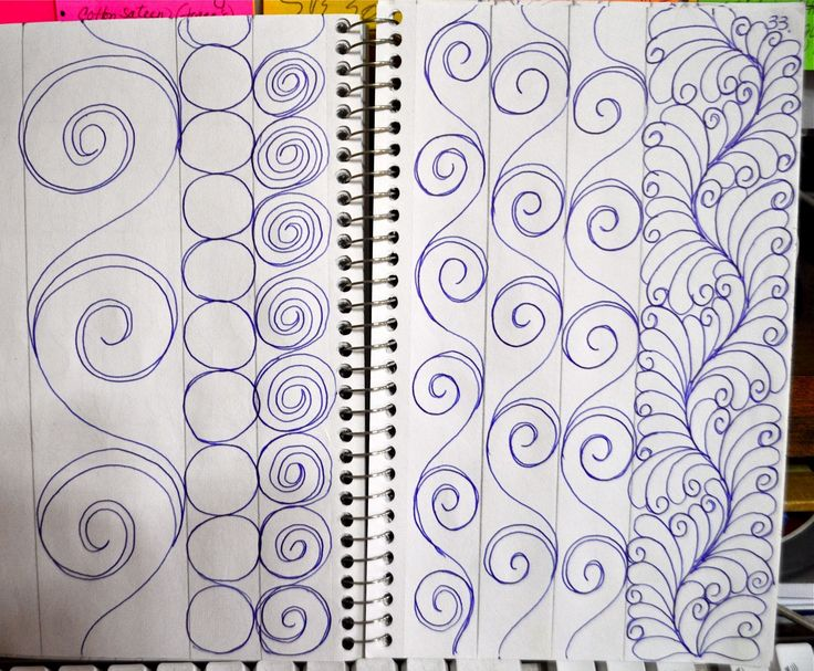 Sashings and Borders quilting sketches Pinterest