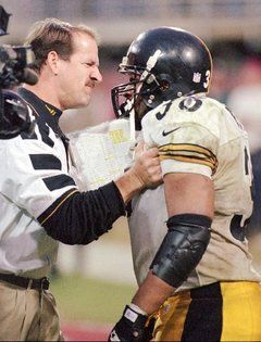 Coach Cowher and the Bus
