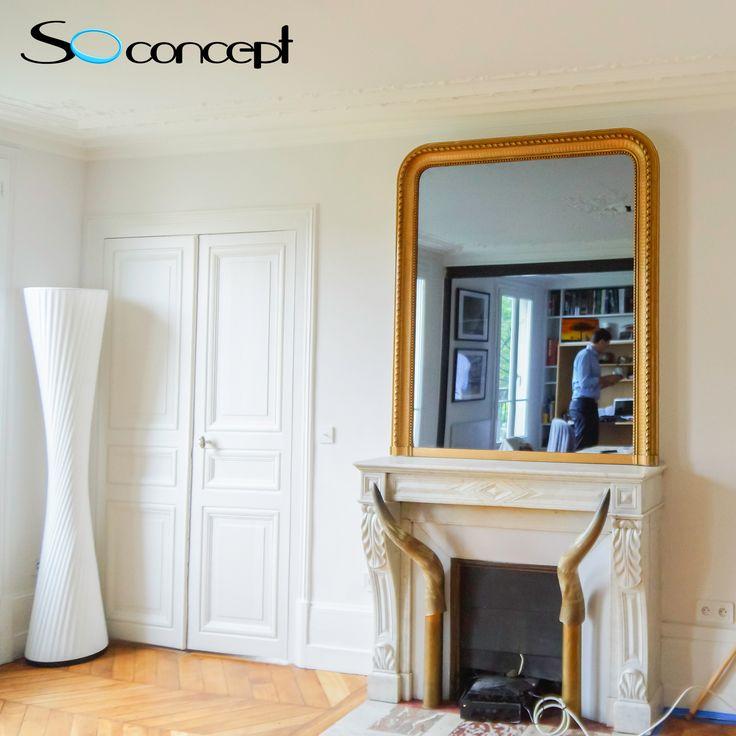 17 best ideas about miroir trumeau on pinterest trumeau for Televiseur miroir