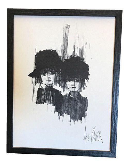Lee Burr Midcentury Framed Print  —