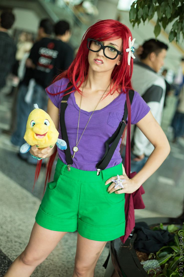 Hipster Ariel - costume idea  To think about for college lol