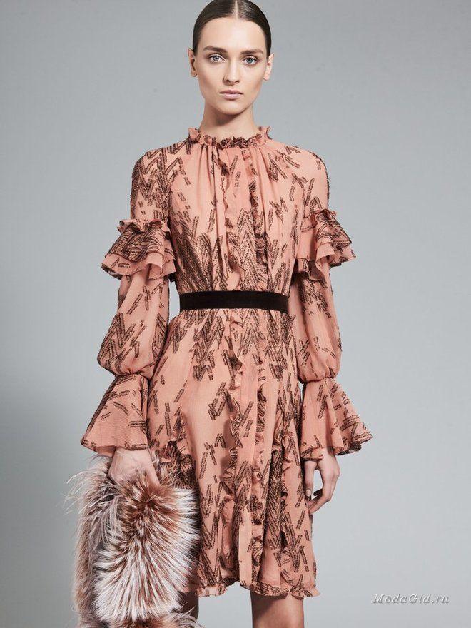 Женская мода: J. Mendel, осень-зима 2017-2018