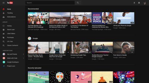 YouTube Gets New 'Polymer' Framework, Updated Design, Dark Theme