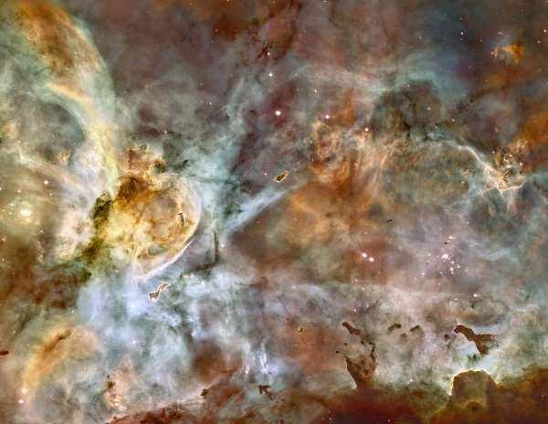 The Carina Nebula - NASA, ESA, N. Smith (University of California, Berkeley), and The Hubble Heritage Team (STScI/AURA)