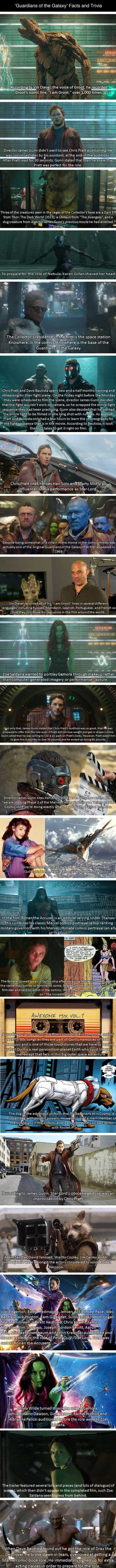 Today's Trivia: Some Guardians Of the Galaxy Facts The Movie Won't Tell You