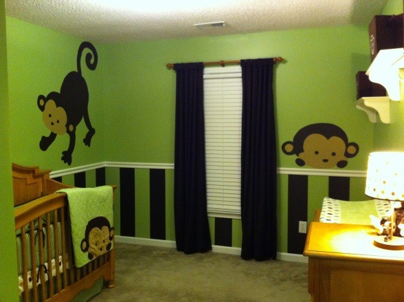 Monkey theme hoboheartChild Room, Cheap Dates Ideas, Monkey Theme, Daughters Room, Future Baby, Big Boys Room, Baby Boys Room, Monkeys Theme, Baby Boys Bedrooms Monkeys