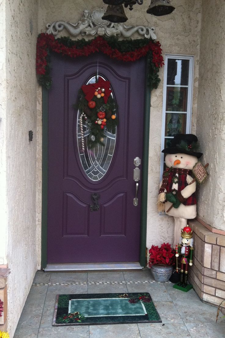 20 Best Images About Purple Front Doors On Pinterest