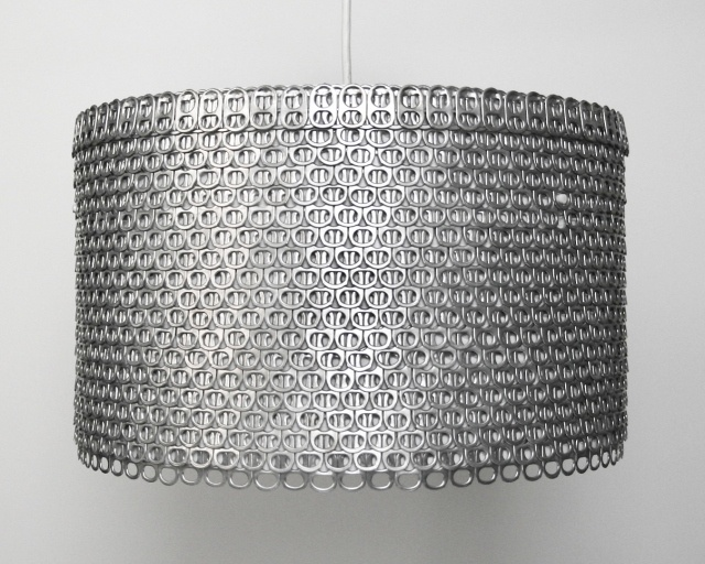 Soda Can Tab Large Drum Shade