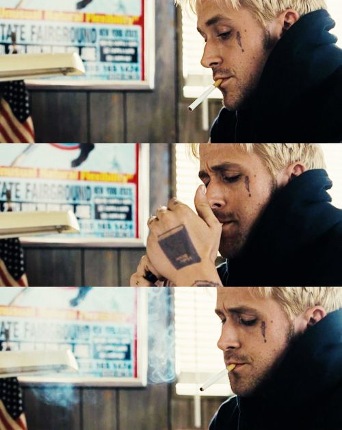 The Place Beyond the Pines..I didn't think Ryan Gosling could get any sexier..
