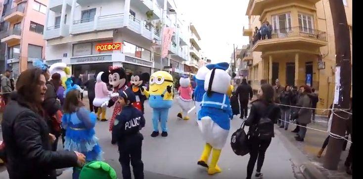 ΡΕΘΕΜΝΙΩΤΙΚΟ ΚΑΡΝΑΒΑΛΙ 2018 παιδική παρέλαση / RETHYMNON CARNIVAL 2018 ΔΕΙΤΕ ΤΟ VIDEO!!!!