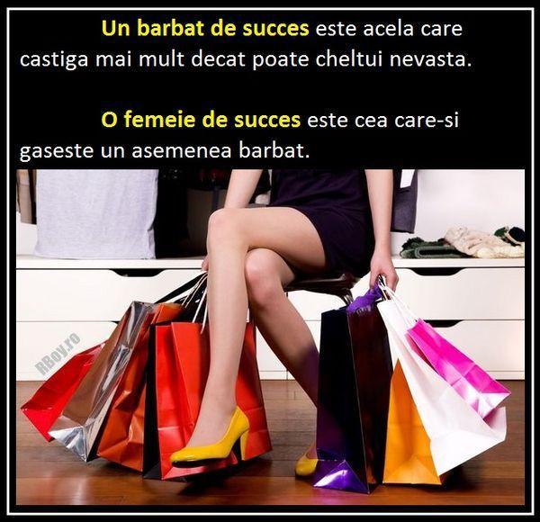 Barbatul de succes Vs. femeia de succes