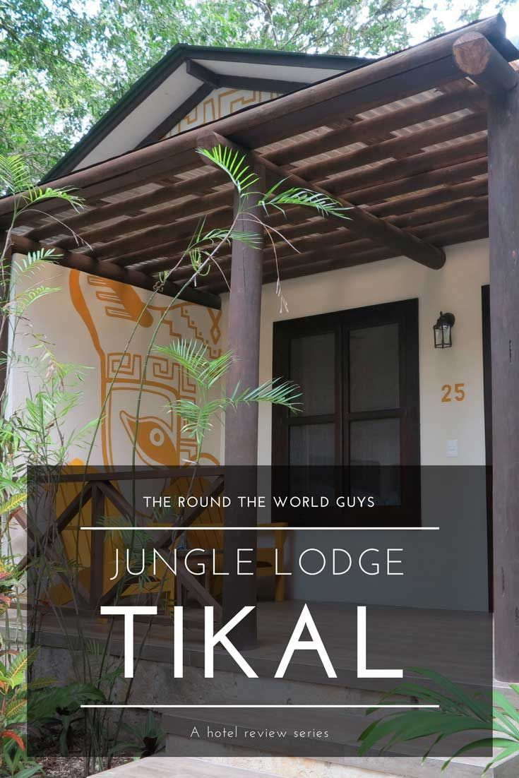 A review of Jungle Lodge Tikal Hotel in Guatemala.