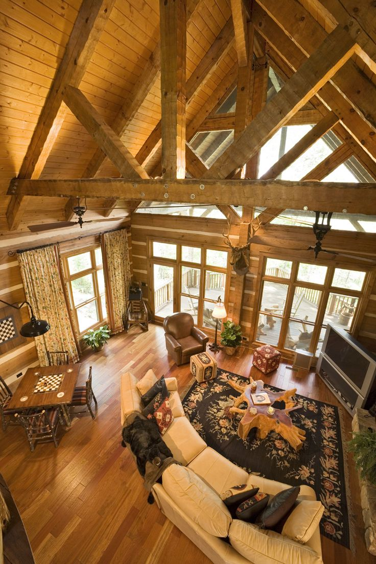 58 best LOG HOMES images on Pinterest | Log homes, Logs and Log cabins